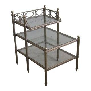 Regency Metal Side Table