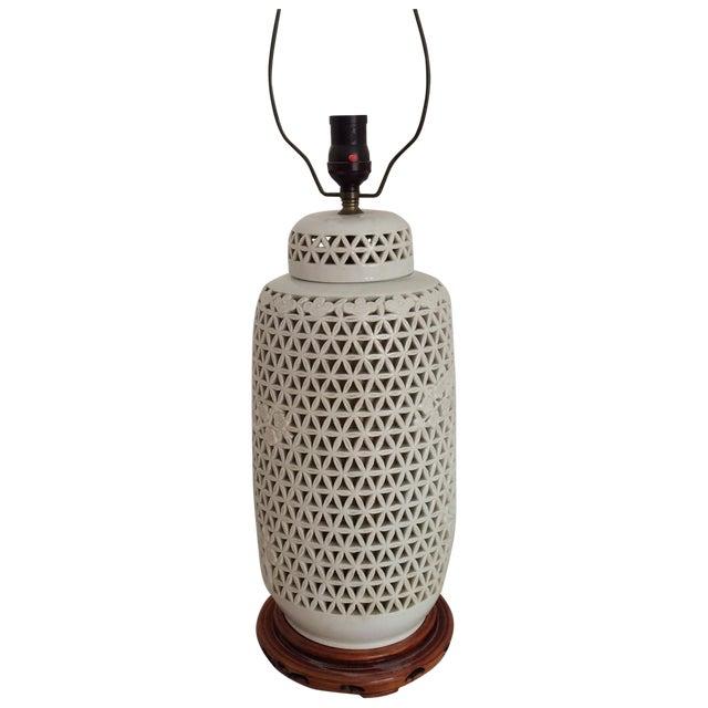 Image of Blanc De Chine Lamp Cherry Blossom Lamp