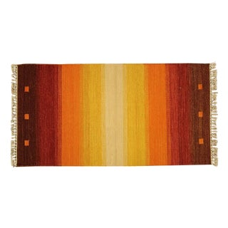 "Vegetable Dyed Kilim Rug - 2'3"" x 4'2"""