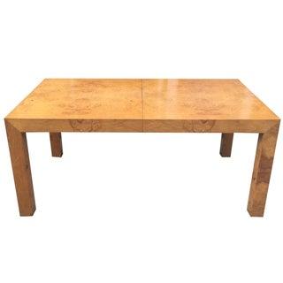 Milo Baughman Burl Parsons Table