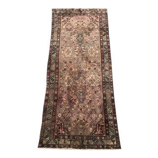 """Vintage Persian Wool Rug - 3'5"""" X 8'2"""""""