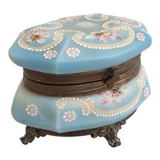 Antique Wavecrest Trinket Box
