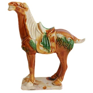 Ceramic Chinese War Horse
