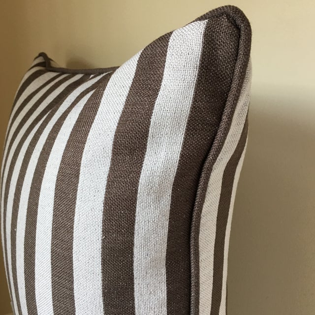 Image of Striped Pillow