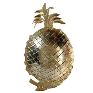 Brass Pineapple Catchall