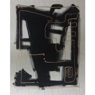 'ZiMBABWE' original abstract painting by Linnea Heide