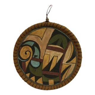 Tribal Hand Painted Wall Hanging