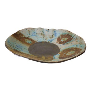Copper Glazed Ceramic Serving Dish