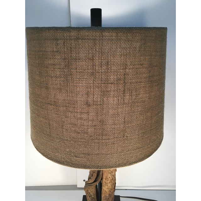 Organic Twig/Root Lamp - Image 4 of 6