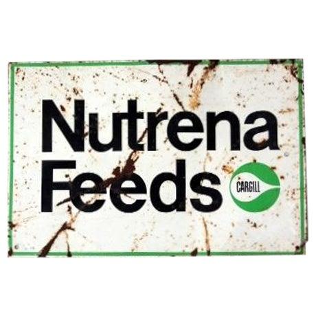 Vintage Nutrena Feeds Metal Sign - Image 1 of 5
