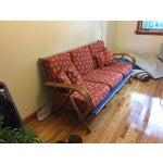 Image of Vintage Rattan Sofa