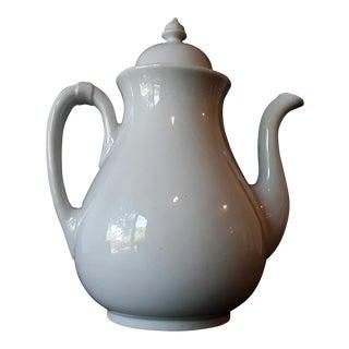 Antique English Pankhurst Ironstone Teapot