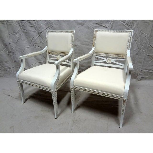 Swedish Armchairs - Set of 2 - Image 2 of 6