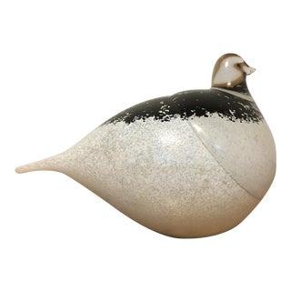 Mid-Century Glass Bird