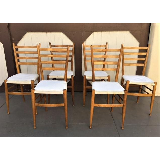 Italian Dining Chairs - Set of 6 - Image 2 of 6