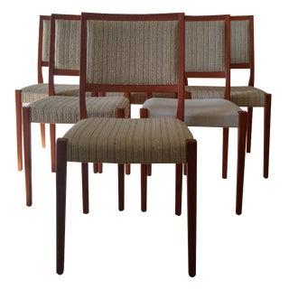 Svegards Markaryd Teak Dining Chairs - Set of 5