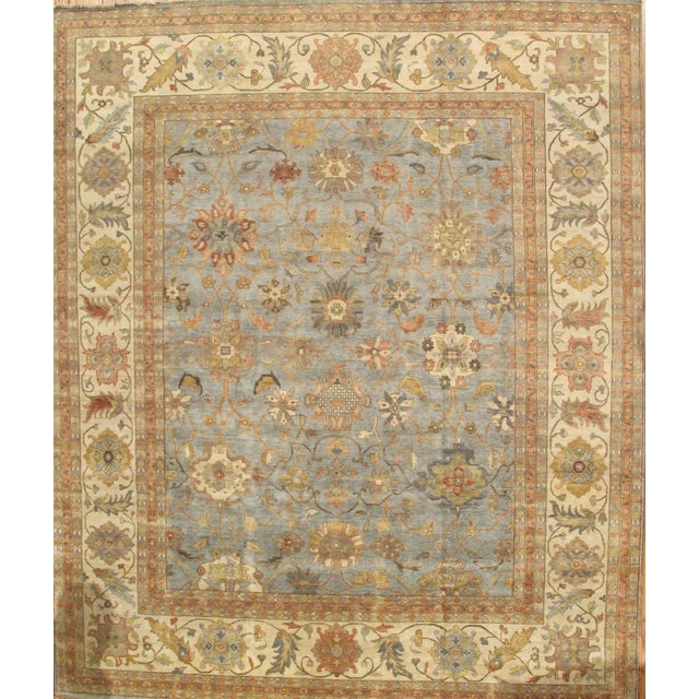Traditional Pasargad Sultanabad Collection Rug - 6′1″ × 9′ - Image 1 of 2