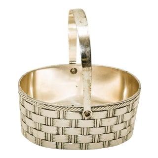 Vintage Silver Trinket Basket
