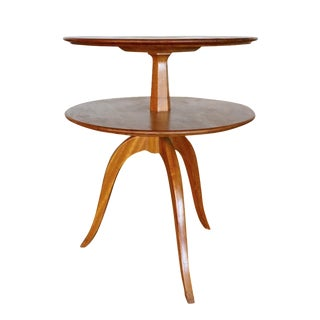 Paul Frankl Two-Tiered Mahogany Table