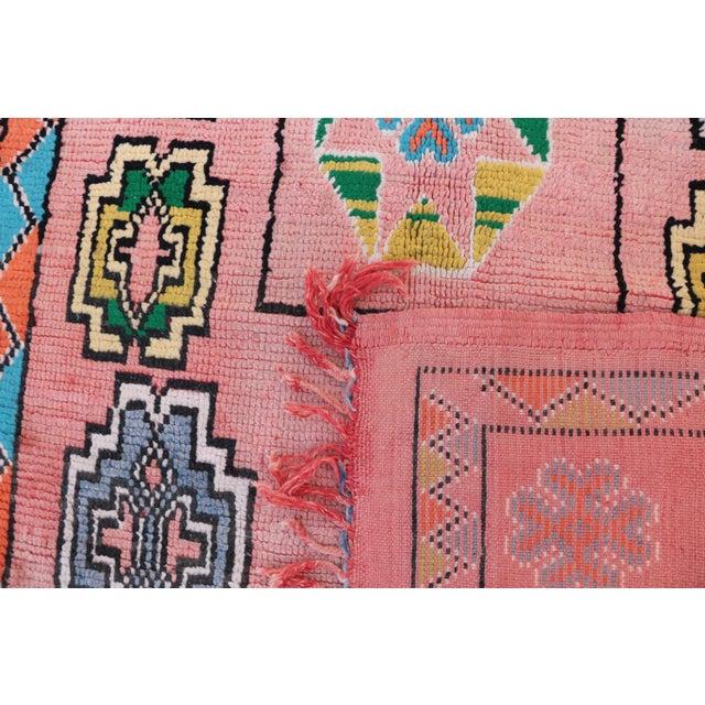 "Boujad Vintage Moroccan Rug, 6'1"" x 10'10"" - Image 4 of 4"