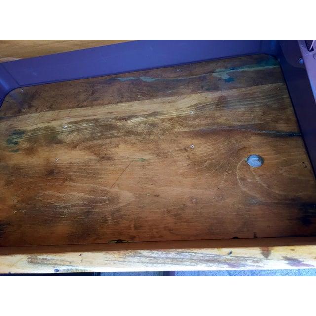 Vintage Home School Desks - Pair - Image 9 of 11