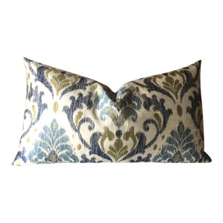 Braemore Designer Ikat Pillow Cover