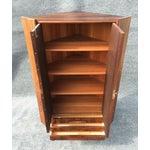 Image of Danish Modern Rosewood Corner Cabinet