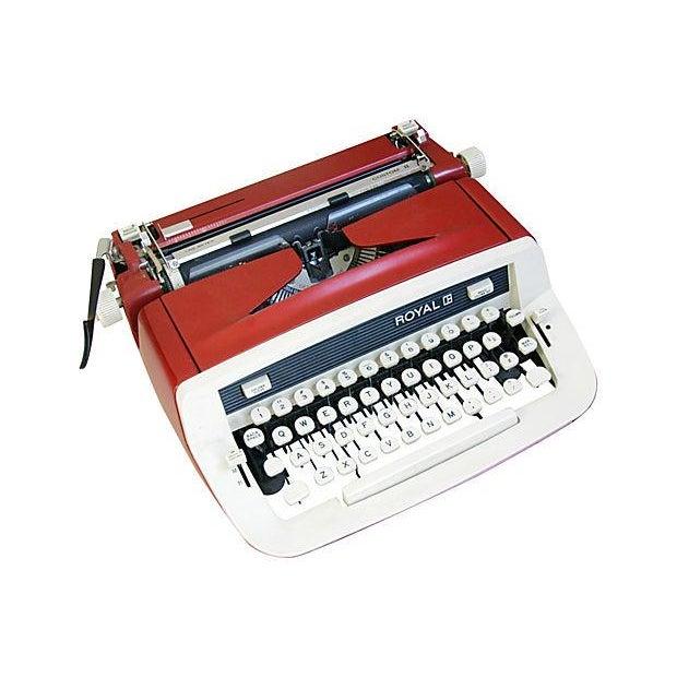 Vintage 1970s Royal Custom II Typewriter & Case - Image 6 of 7
