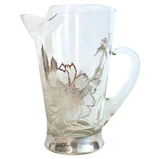 Dorothy Thorpe Style Sterling Silver Pitcher