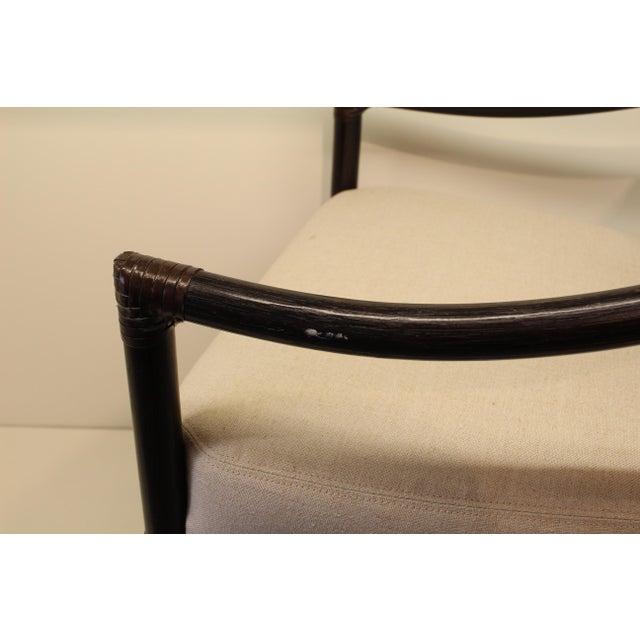 McGuire Orlando Diaz-Azcuy Salon Arm Chair - Image 6 of 6