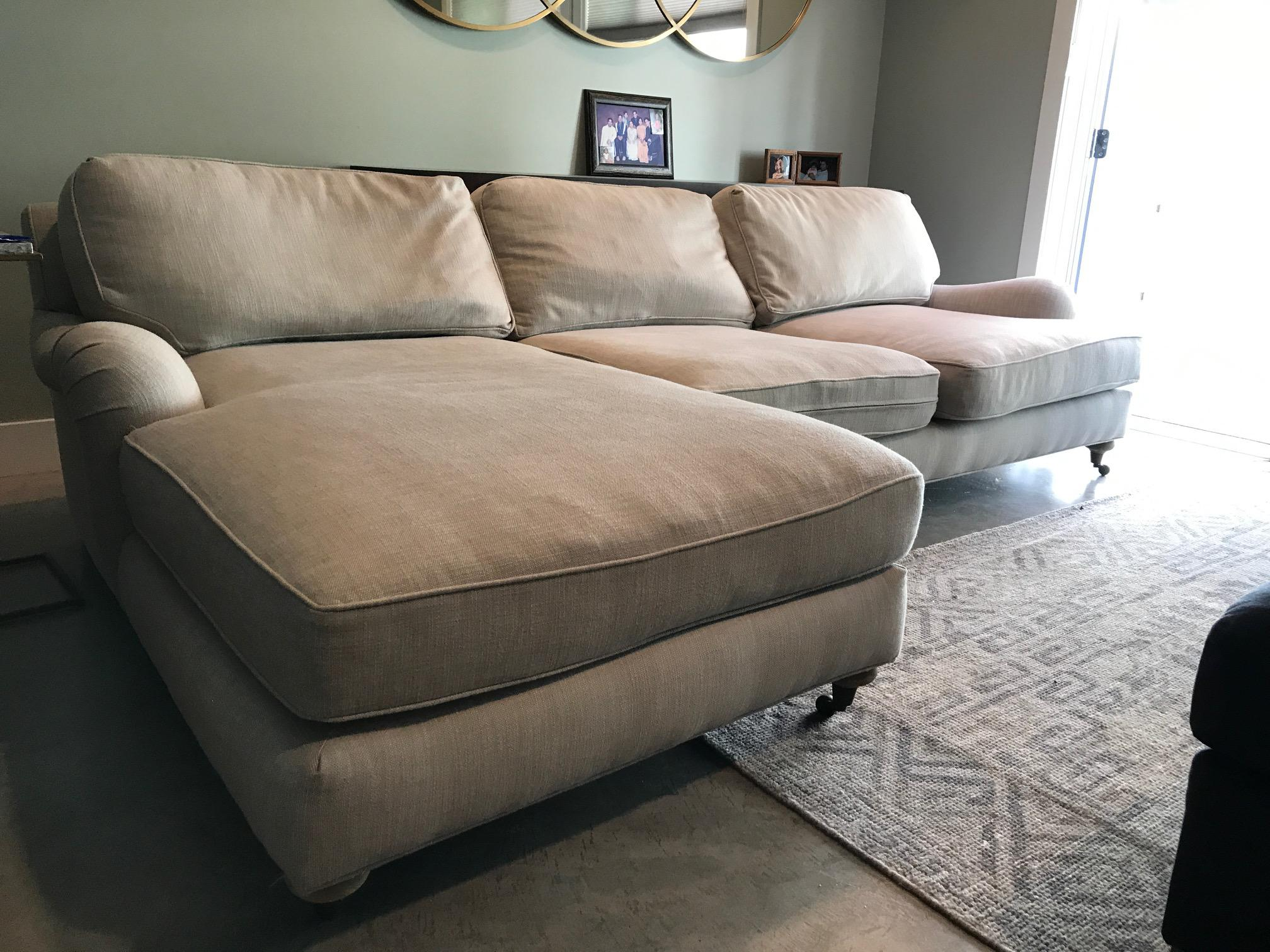 Restoration Hardware Sectional Sofa   Image 6 Of 9