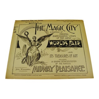 1894 Chicago World's Fair Magic City Illustrated Photo Book
