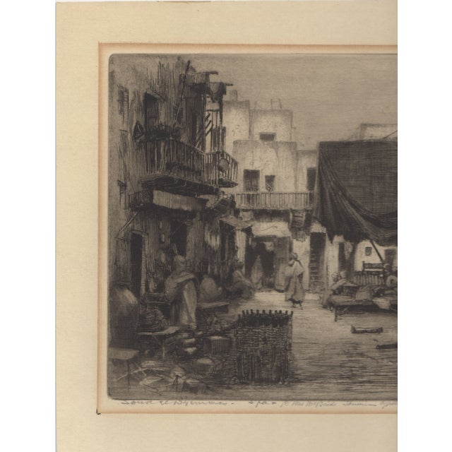 1930's Etching by Walter Chandler - Image 3 of 5