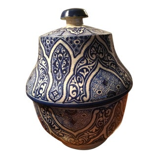 Antique Moroccan Pottery Jar