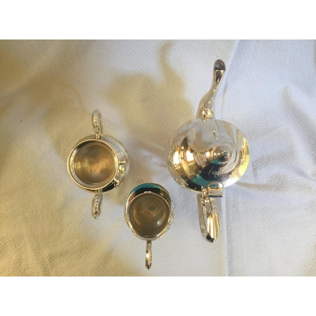 English Silverplate Coffee Service - Set of 3 - Image 6 of 6