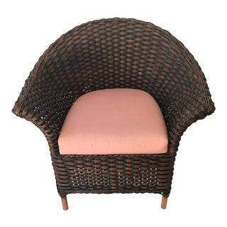 Cushioned Woven Palecek Chair