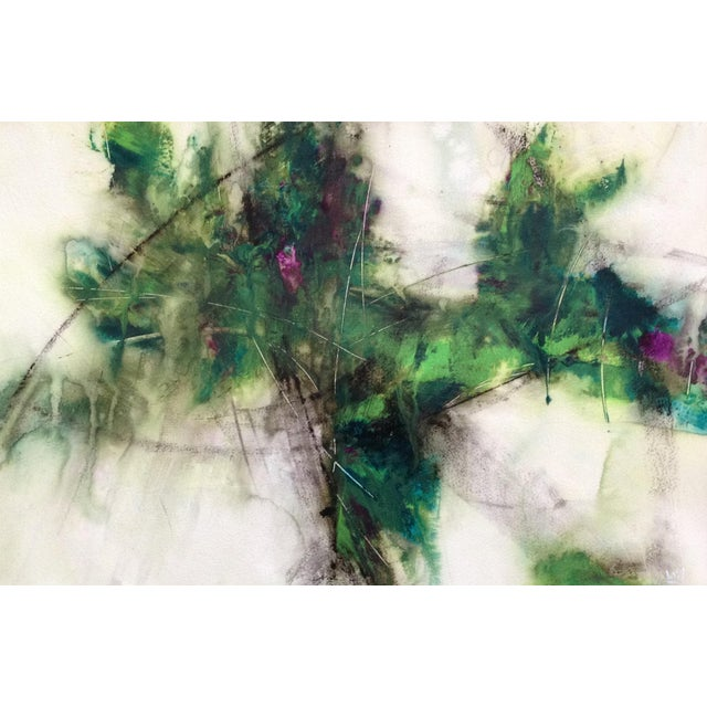 """Geodetic"" Original Painting - Image 3 of 3"