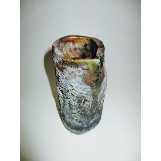Brutalist Thick Glazed Pitcher Vase - Image 10 of 10