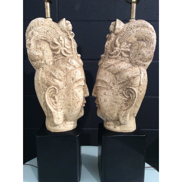 James Mont Buddha Lamps - A Pair - Image 8 of 11