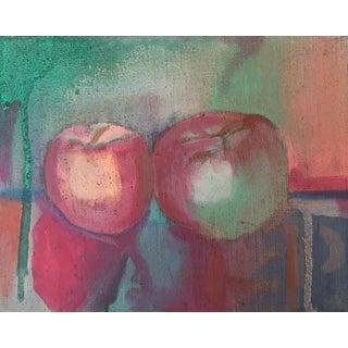 Original Still Life of Apples Painting
