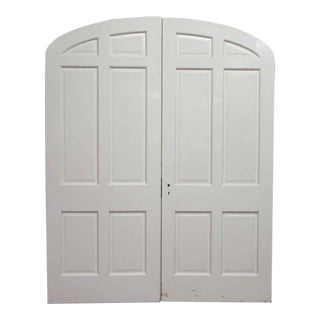Arched Top Double Doors - A Pair