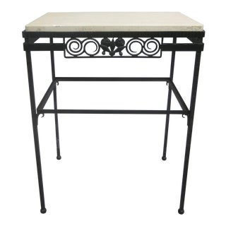 French Art Deco Console in the Manner of Edgar Brandt