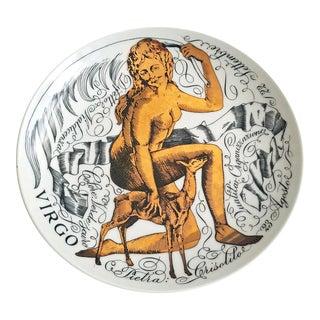 Vintage Piero Fornasetti Porcelain Zodiac Plate