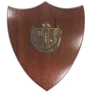1950s Delta Zeta Sorority Wall Plaque