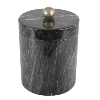 Dark Green Marble Ice Bucket