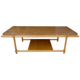 Tommi Parzinger Originals Polka Dot Coffee Table
