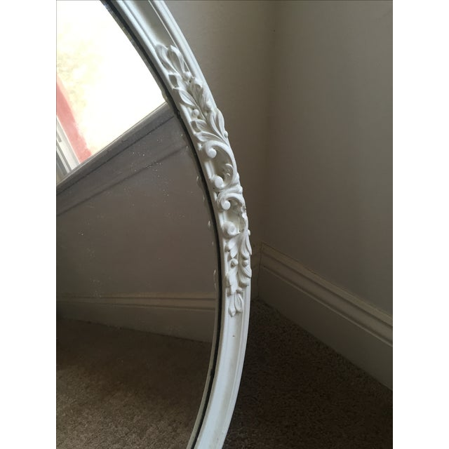 Shabby Chic Circle Mirror - Image 6 of 7