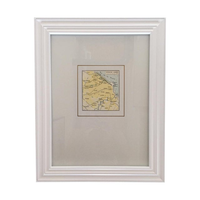Framed Vintage Map of Buenos Aires - Image 1 of 5