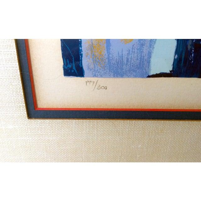 """Nicola Simbari """"Paris at Dusk"""" Serigraph - Image 5 of 9"""