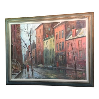 Tirefort New York Oil Painting